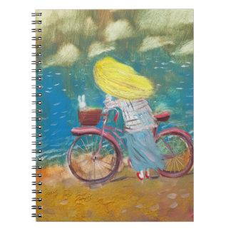 Photo Notebook romance on the sea coast