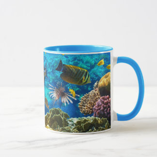 Photo of a tropical Fish on a coral reef Mug
