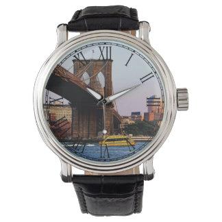 Photo of the Brooklyn Bridge in NYC Watch