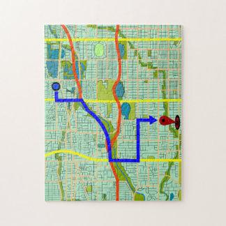 Photo Puzzle You Have Reached Your Destination!