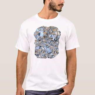 Photo Realistic Foil on White T-Shirt