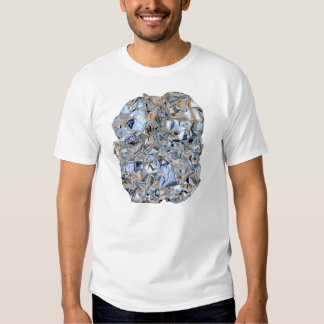 Photo Realistic Foil on White Tshirts