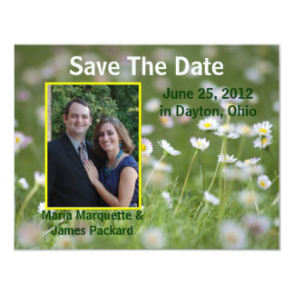 Photo Save The Date Wedding Announcement