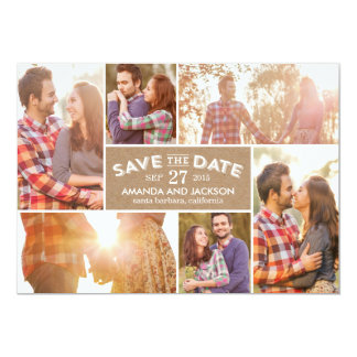 Photo Showcase Save The Date - Craft Card