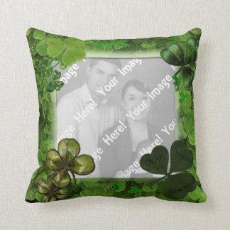 Photo St. Patrick's Day Throw Pillow