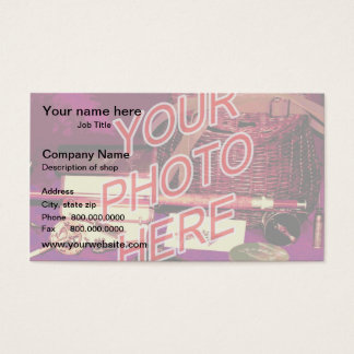 Photo Watermark Background template Business Card