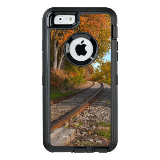 photograph of a railroad OtterBox defender iPhone case