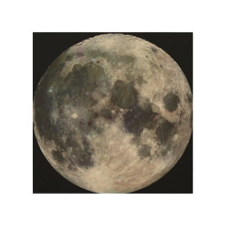 Photograph of Full moon Wood Canvases