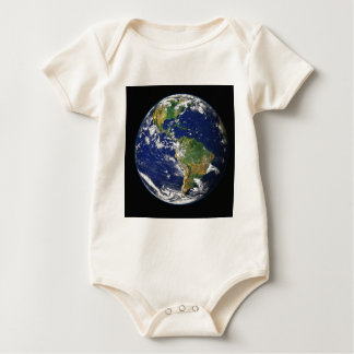 Photograph of the Earth Baby Bodysuit