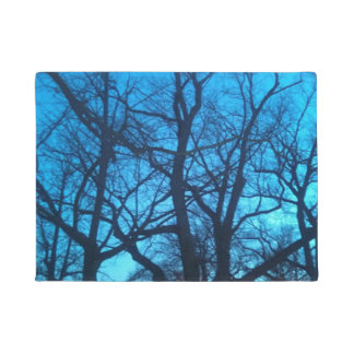 Photograph of Trees in Winter on Doormat
