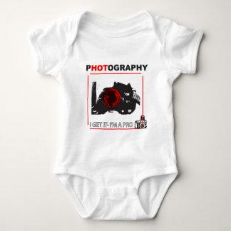 Photographers apparel baby bodysuit