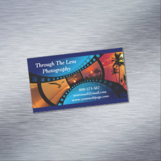Photography Film Photos Photographer Magnetic Business Cards