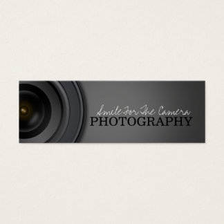Photography Mini Business Card