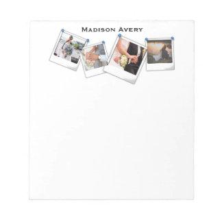 Photography Photographer Minimal Professional Notepad
