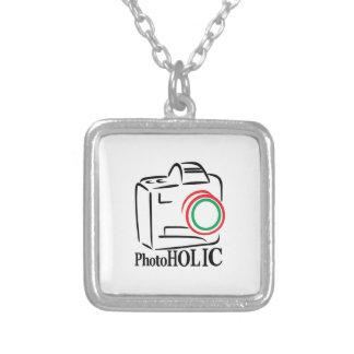Photoholic Square Pendant Necklace