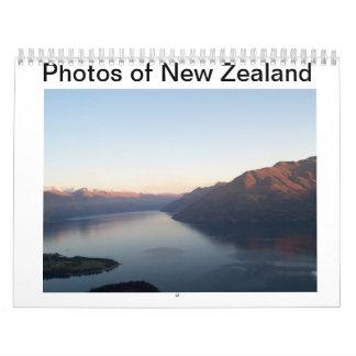 Photos of New Zealand Wall Calendars
