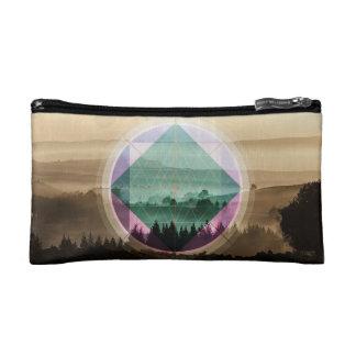 Photoscape landscape art makeup bag