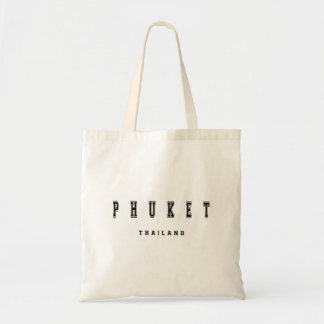Phuket Thailand Budget Tote Bag