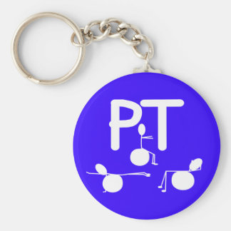 Physical Therapist Gifts Unique Graphics Key Chains