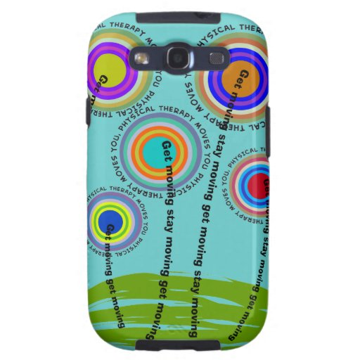 Physical Therapy Artsy Gifts Galaxy SIII Cover