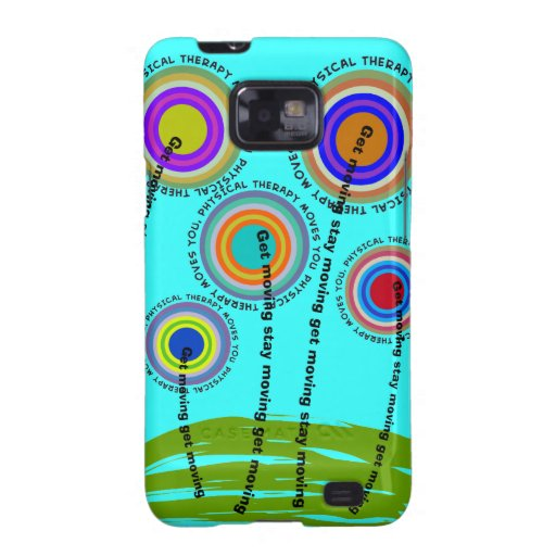 Physical Therapy Artsy Gifts Samsung Galaxy SII Cases