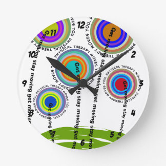 Physical Therapy Artsy Gifts Clock