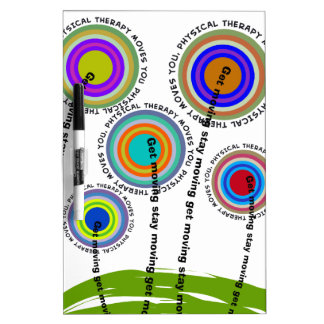 Physical Therapy Artsy Gifts Dry-Erase Whiteboard