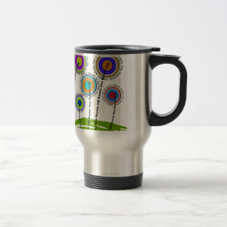 Physical Therapy Artsy Gifts 15 Oz Stainless Steel Travel Mug