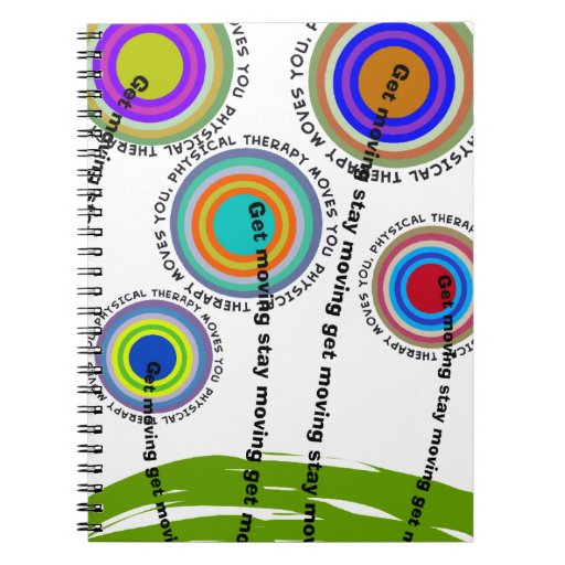 Physical Therapy Artsy Gifts Journals