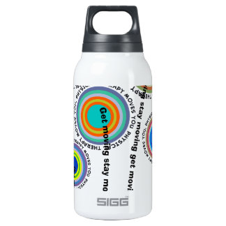 Physical Therapy Artsy Insulated Water Bottle