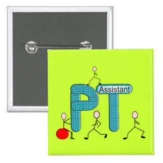 Physical Therapy Assistant Gifts Pins