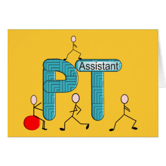 Physical Therapy Assistant Gifts Greeting Card