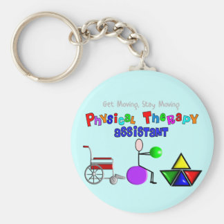 Physical Therapy Assistant Gifts Unique Graphics Keychains