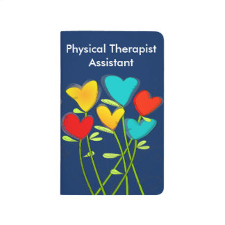 Physical Therapy Assistant Pocket Journal Floral