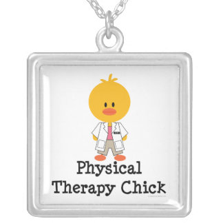 Physical Therapy Chick Necklace