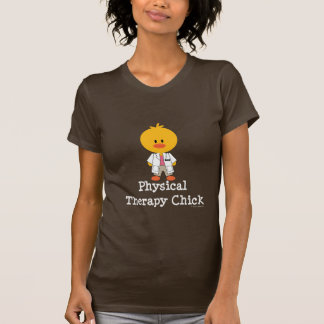 Physical Therapy Chick Tee Shirt
