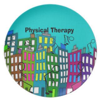 Physical Therapy Gifts Dinner Plates