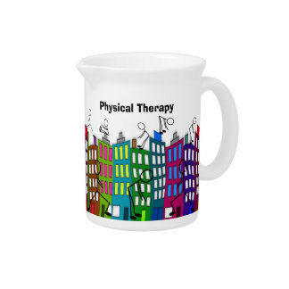 Physical Therapy Gifts Drink Pitcher