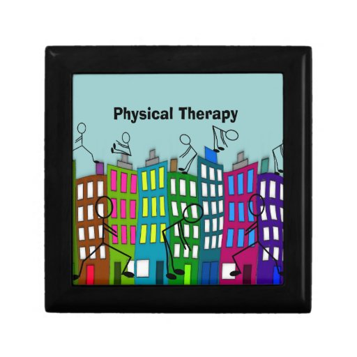 Physical Therapy Gifts Keepsake Box