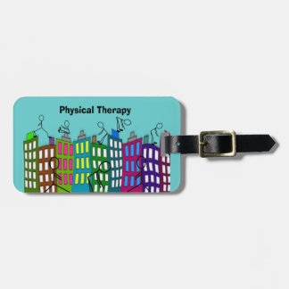 Physical Therapy Gifts Bag Tag