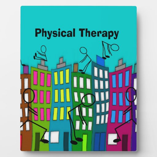 Physical Therapy Gifts Display Plaques
