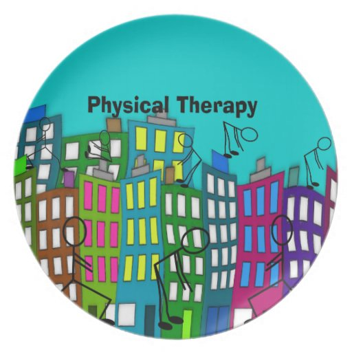 Physical Therapy Gifts Plate