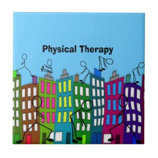 Physical Therapy Gifts Small Square Tile