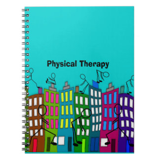 Physical Therapy Gifts Spiral Notebook