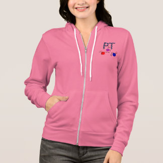 Physical Therapy Zip Hoodie Stick People