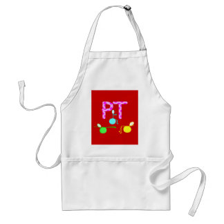 Physical Therpist Gifts With Unique Graphics Adult Apron