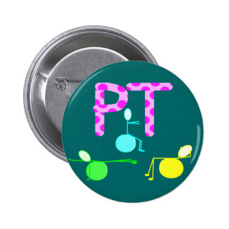 Physical Therpist Gifts With Unique Graphics Button