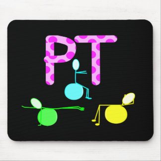 Physical Therpist Gifts With Unique Graphics Mouse Pad