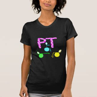 Physical Therpist Gifts With Unique Graphics Tee Shirt