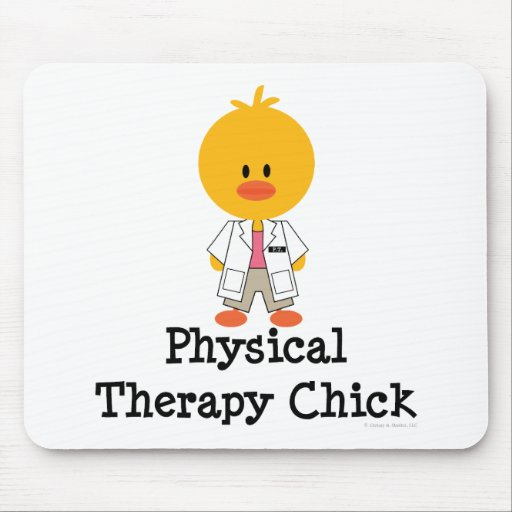 PhysicalTherapyChick Mouse Pad